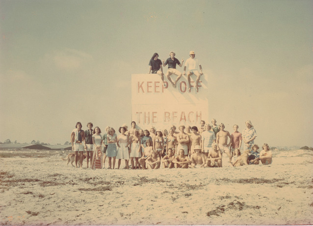 Keep off the beach